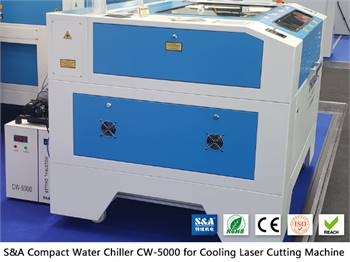 Water Chiller CW5000 for Non Metals Laser Cutters
