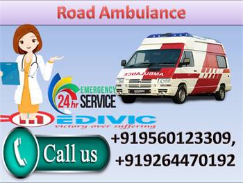 Get Low Fare Medivic Road Ambulance Service in Gaya at Affordable Price