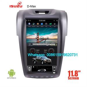 Isuzu D-max vertical Android car player